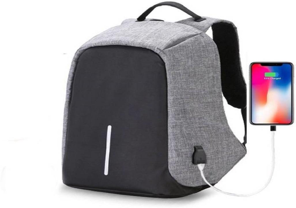 Outlet Anti-theft with Inbuilt USB Bag